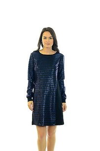 Trina Turk short dress Black Arias Metallic on Tradesy