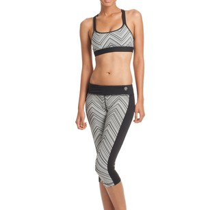 Trina Turk Zig Zag Print Sports Bra and Leggings