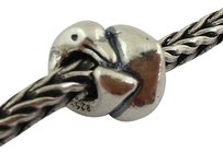 Trollbeads Trollbeads Sterling Silver Dolphins Bead Charm 11214