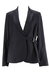 Trussardi Trussardi Pinstripe Womens Suit Blue Virgin Wool -