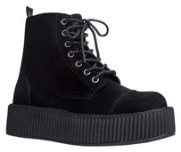 T.U.K Closed-toe Black Boots