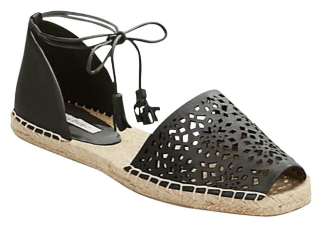 Twelfth St. by Cynthia Vincent Size Black Farie Espadrille Sandals Size Vincent US 8.5 Regular (M, B) e467b7