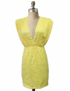 Twelfth St. by Cynthia Vincent short dress yellow Street on Tradesy