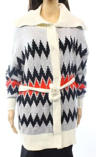 Vince Camuto Cotton-blends Long-sleeve Sweater