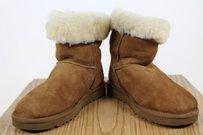 UGG Australia Womens Leather Tan Boots