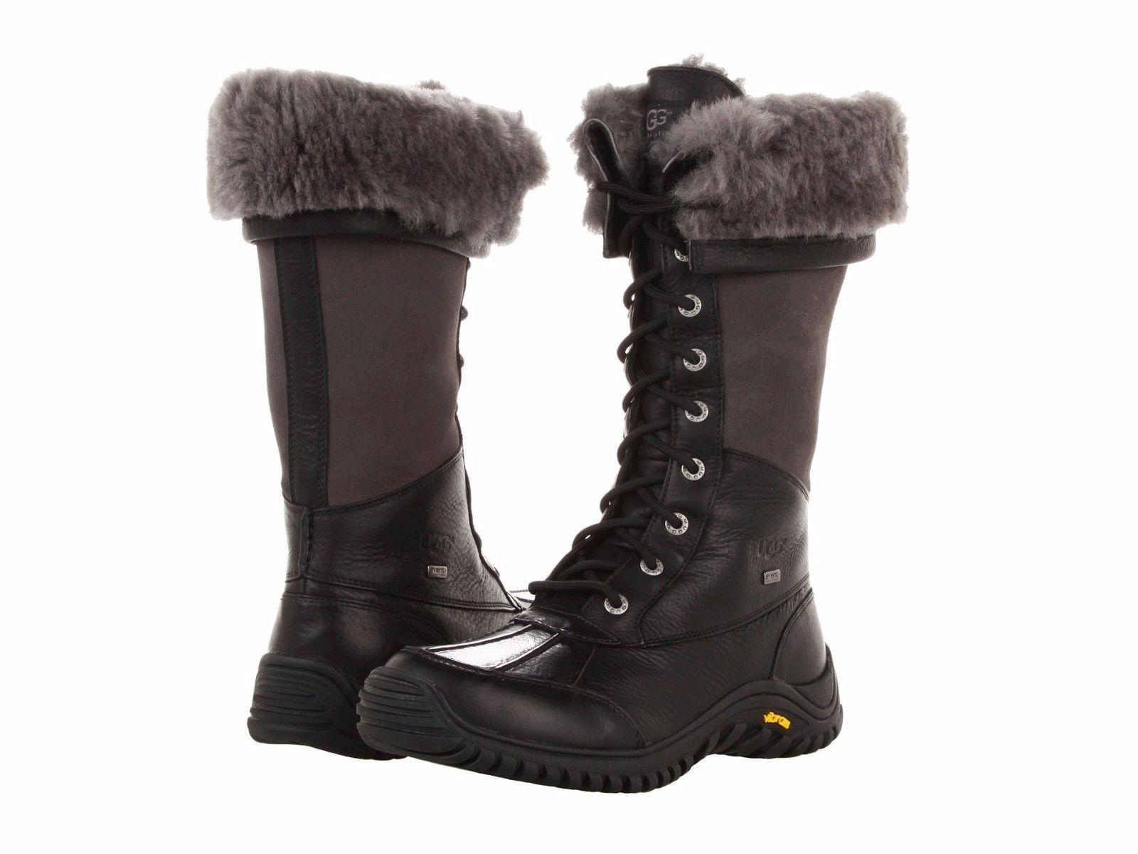 UGG Australia For Her 1001786 Size 5 Black Boots ...