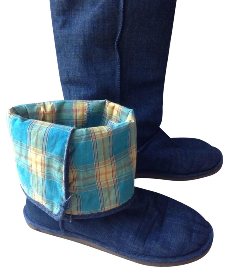 blue jean ugg boots