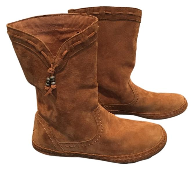 ugg australia brown boots boots booties on sale