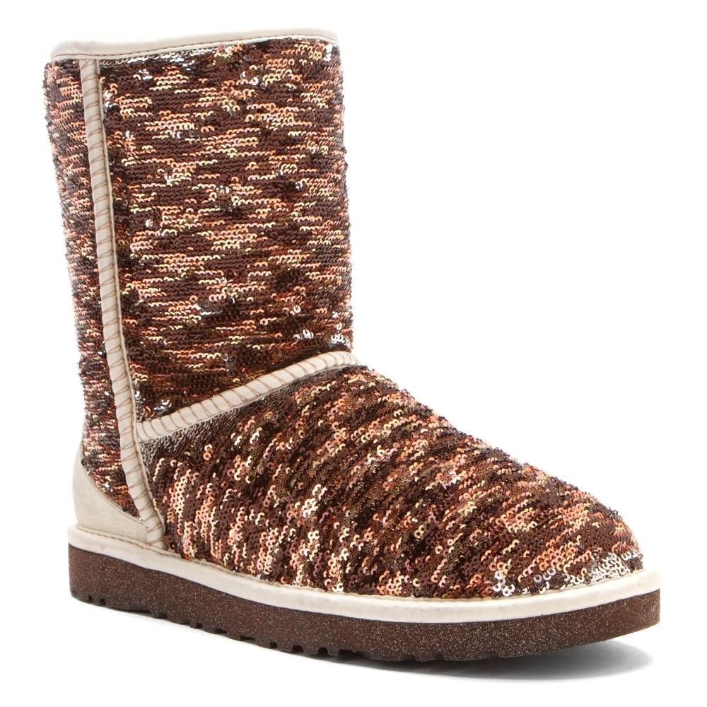 sequin uggs with bows