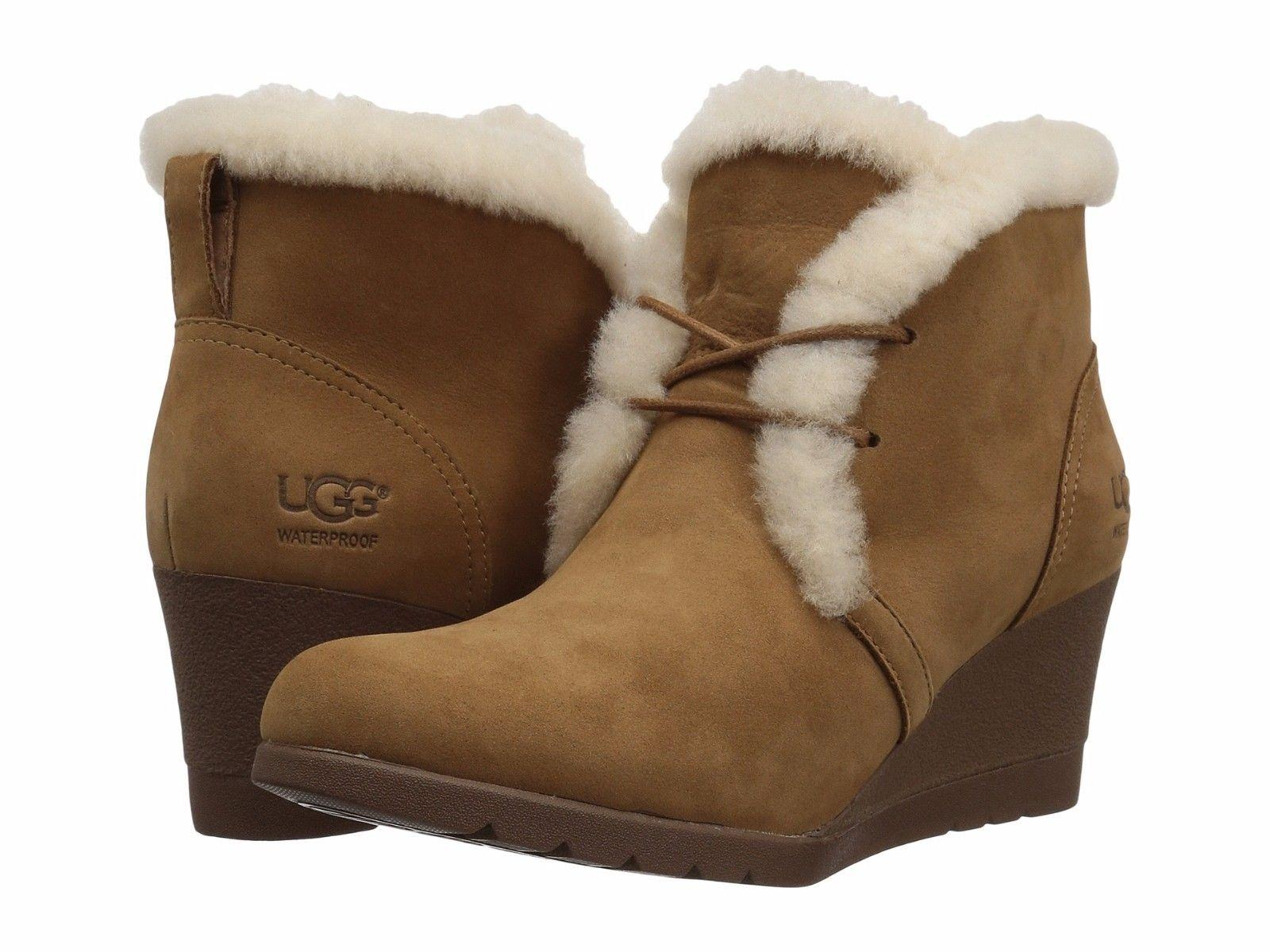 bc7734b1ae2 netherlands ugg lace up wedge boots 5f5af 4b689