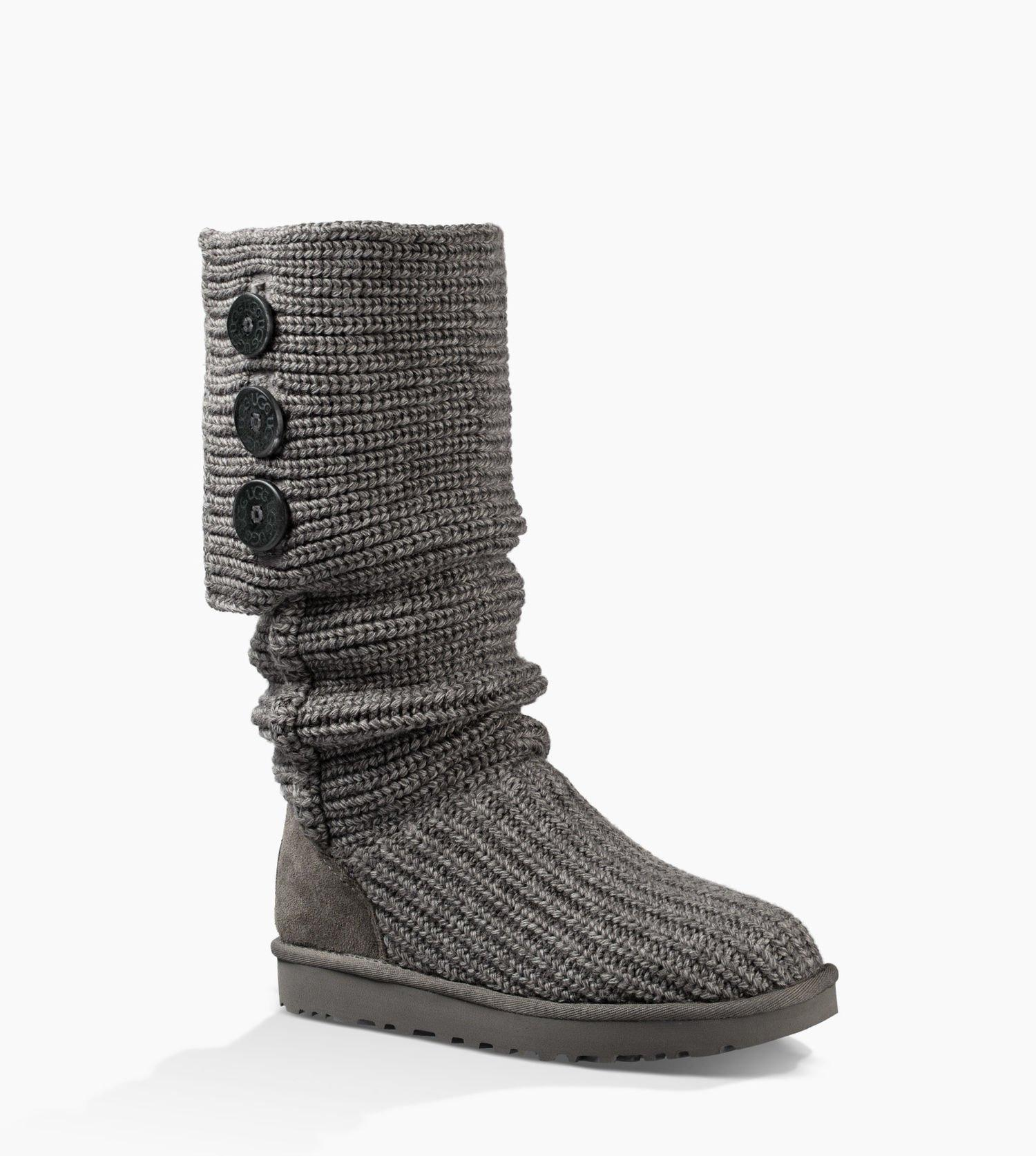UGG Australia For Her 8 Grey Boots. 1234