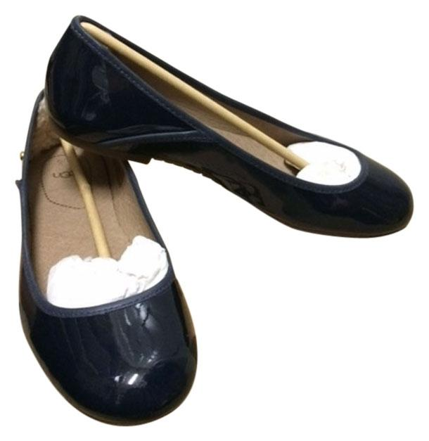 UGG Australia Patent Leather Size 8 Navy blue Flats ...