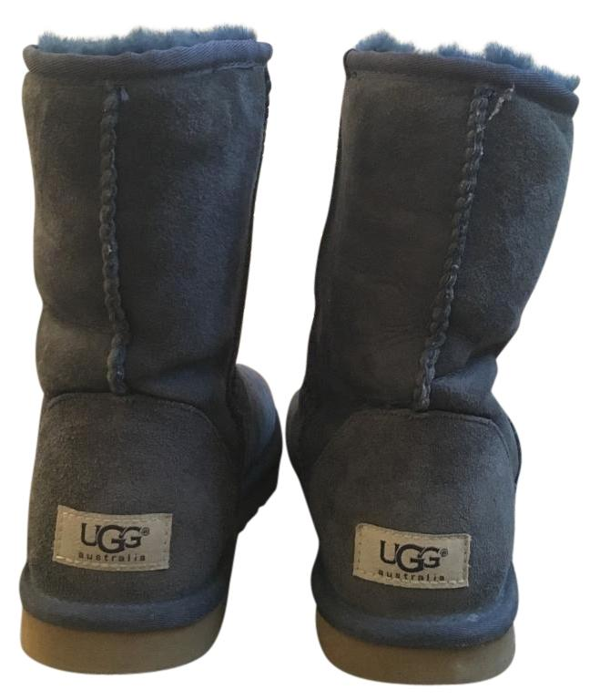 Navy Blue Uggs With Button