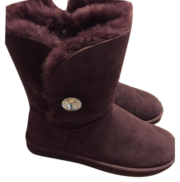 purple bailey bling uggs