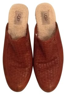 UGG Boots Chestnut Mules