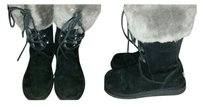 UGG Australia Black and Gray Boots