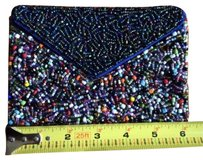 Beaded Small Multi Color Clutch