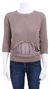 UNDERCOVER Taupe Brown Sweater