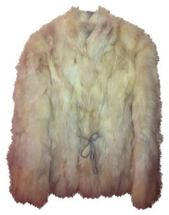 Fur Rabbit Vintage Fur Coat
