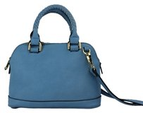 Urban Expressions Satchel in Light Blue
