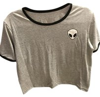 Urban Outfitters T Shirt Grey Black