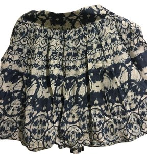 Urban Outfitters Skirt Blue White