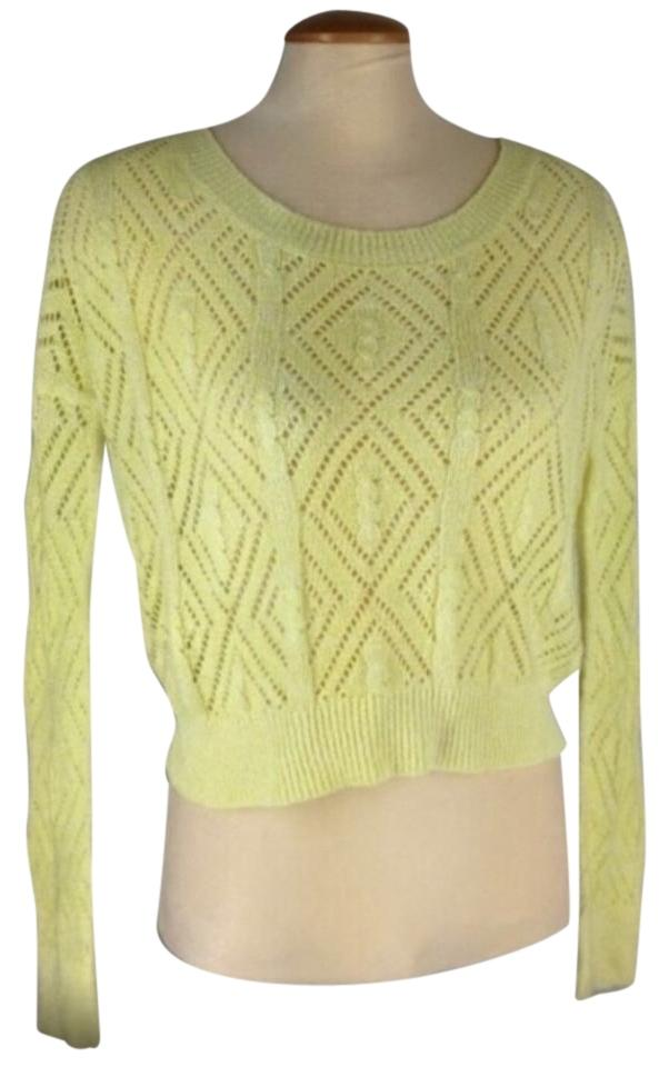 Urban Outfitters Pins And Needles Knit Crop Sweater 70 Off Retail