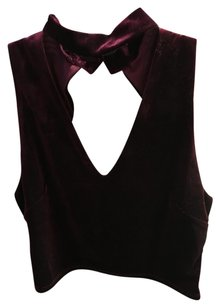 Urban Outfitters Top Burgundy
