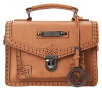 V 1969 Italia Satchel in Camel