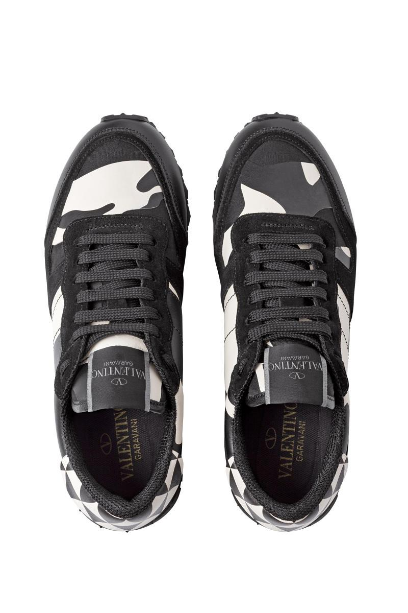 valentino rockrunner limited edition black and white