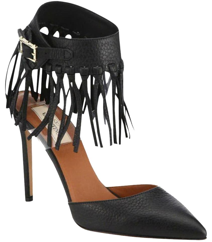Valentino Rockstud Fringe Pumps cheap price wholesale price low shipping fee for sale best place cheap price best store to get clearance for nice i5i1XgfG