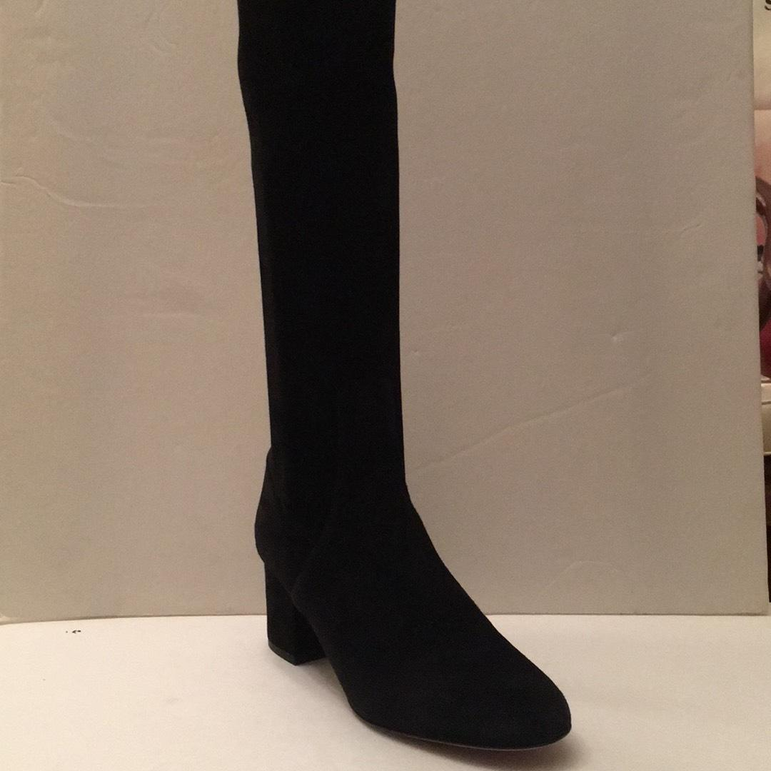 Valentino Black Suede Iw250a544 Md Boots/Booties Size EU 37.5 (Approx. US 7.5) Regular (M, B)