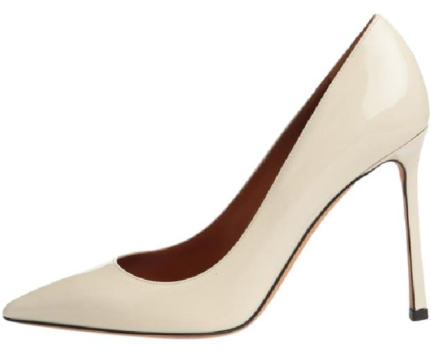 6f38fb9c7e9 Valentino Bone Pumps Size EU 40.5 (Approx. US 10.5) 10.5) 10.5 ...