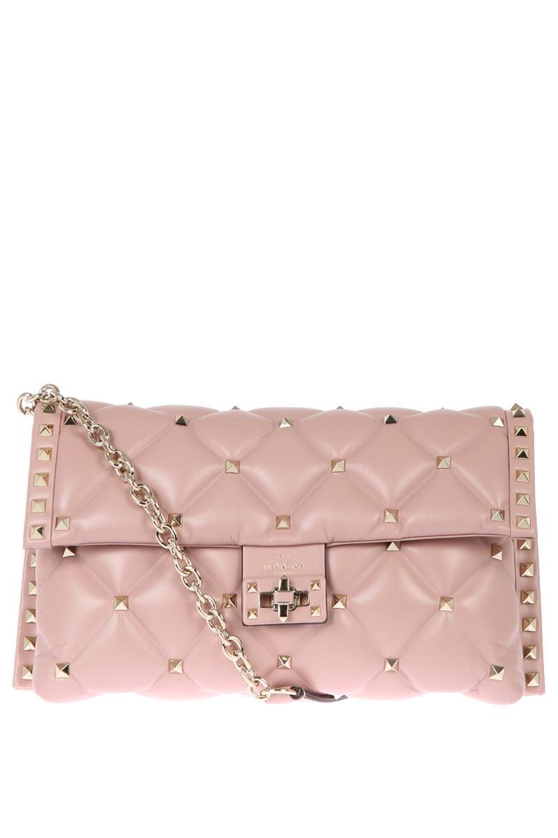 Valentino CandyStud Small Quilted Shoulder Bag bD1EUzR