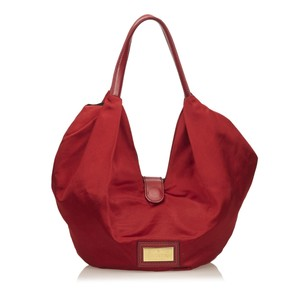 Valentino Fabric Leather Others Tote