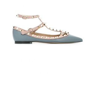 Valentino Grey Blue Flats