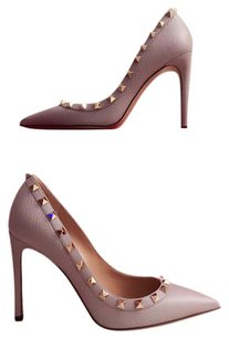 Valentino Pastel Lilac/ light Grey Pumps