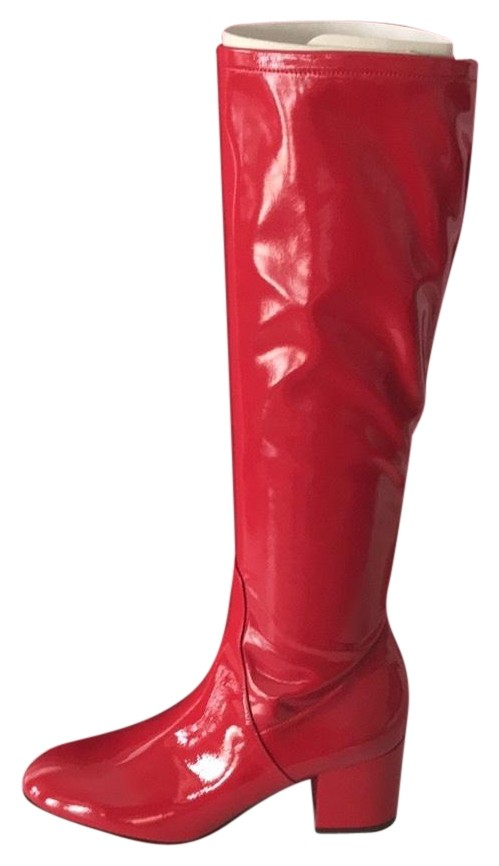 Valentino Red New Boots/Booties Size EU 37 (Approx. US 7) Regular (M, B)