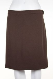 Valentino Boutique Womens Skirt Brown