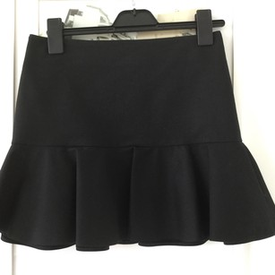 Valentino SZ42 Mini Skirt Black