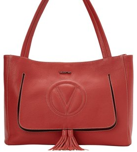 Valentino Tote in Rust Red