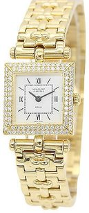 Van Cleef & Arpels Ladies Van Cleef Arpels 18k Yellow Gold Diamond Watch