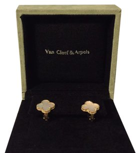 Van Cleef & Arpels VCA Vintage Alhambra Earrings