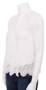 Vanessa Bruno Broderie Top White