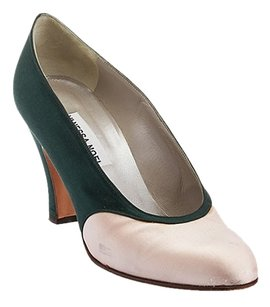 Vanessa Noel Pink/Green Pumps