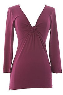 Velvet by Graham & Spencer Top Wineberry