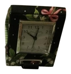 Vera Bradley Vera Bradley New Hope Travel Clock with alarm.