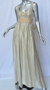Beiges Maxi Dress by Vera Wang Silver Cream Taupe