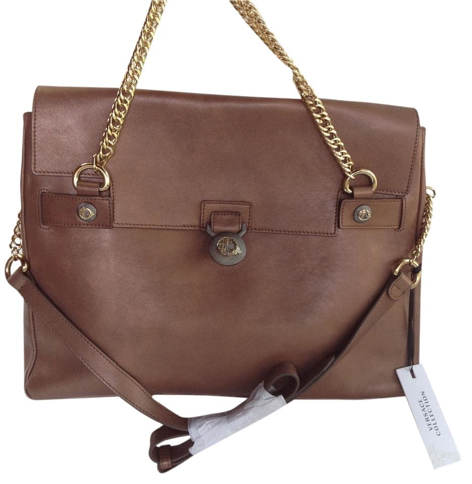 VERSACE Leather Bag Discount Pick A Best Outlet Big Discount Hot Sale For Sale Free Shipping Ebay Latest Online vb1h8