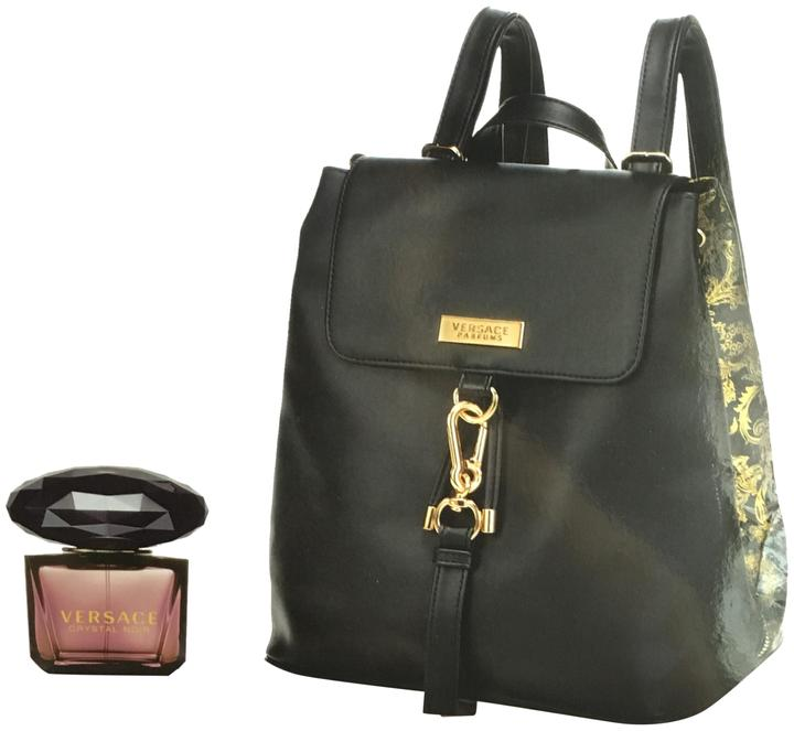 acba71d92ba3 Gift and Perfume Set Black Backpack Versace Limited Edition Medusa ap6wfXq  ...